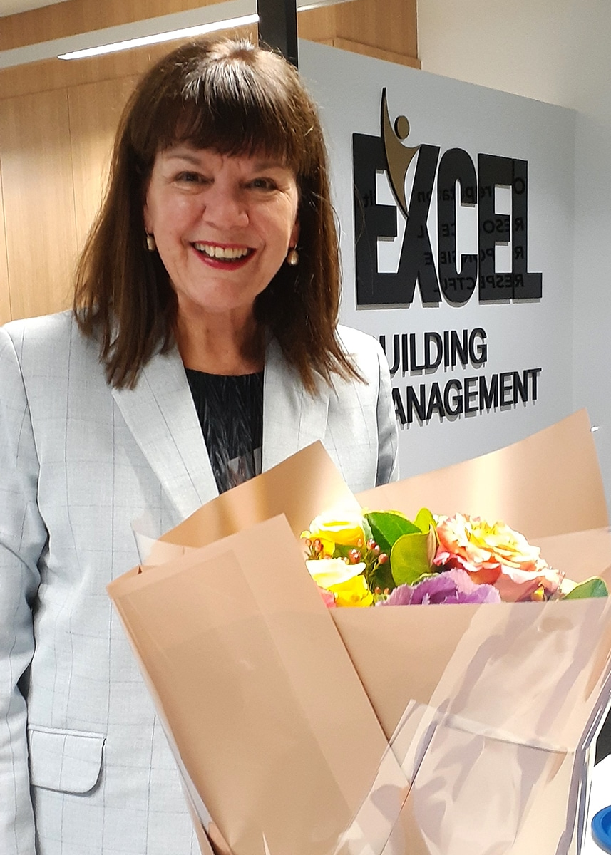 Suzie Tobin, Excel's General Manager Retires after 12 years Dedicated Service